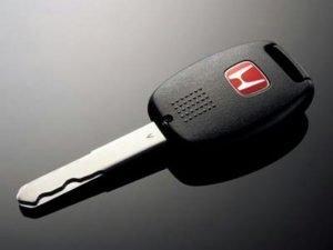 Honda High Security Key Issue