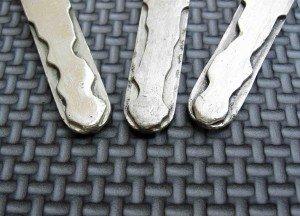 honda worn keys
